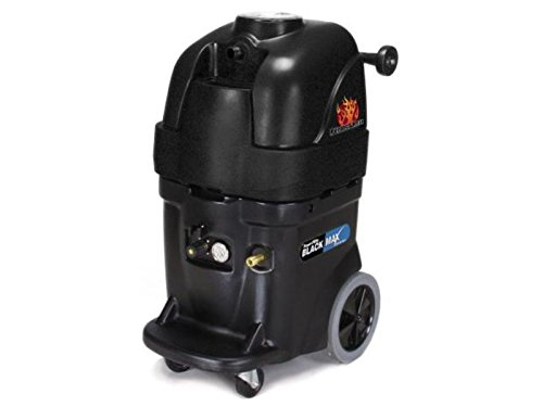 Powr-Flite PFX1385MAX Max Hot Water Carpet Extractor with Perfect Heat, 13 gal Capacity, 500 psi, Black