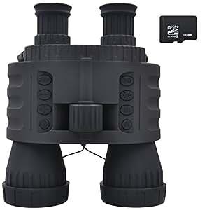 "XIKEZAN 16GB Digital Infrared Night Vision Binoculars with 1.5"" TFT LCD 720P HD Camera & Camcorder 4X50mm"