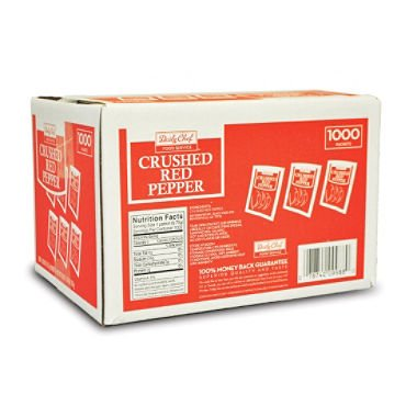 Daily Chef Crushed Red Pepper Packets (1,000 ct.) (pack of 6) by Daily Chef