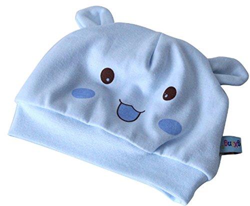 Leisial Sombrero Gorro de Algodón Puro para Bebés Recién Nacido de ...