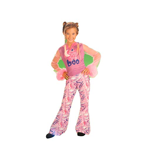 Walmart Express Yourself Pink Boo Halloween Costume Play 4-6