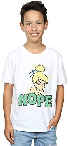 Disney Jungen Tinker Bell Nope T-Shirt Weiß 12-13 Years