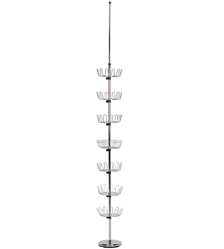 MD Group Floor to Ceiling Shoe Tree, 96.25'' x 25 lbs