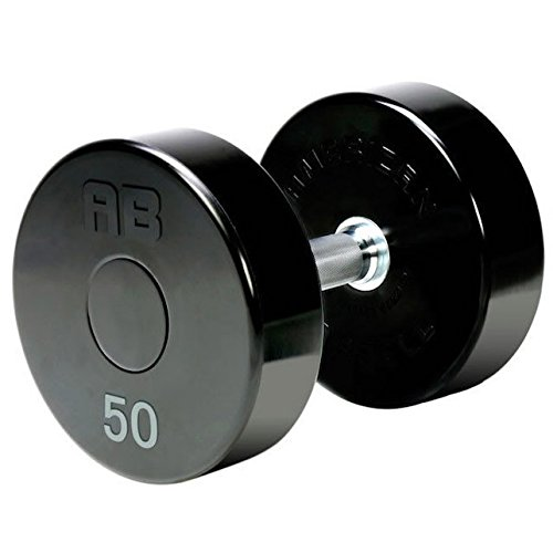 Amazon.com : American Barbell Series II Solid Steel Urethane Dumbbell Set 5-50 lbs (10 Pairs) - Commercial Grade Dumbbells : Sports & Outdoors