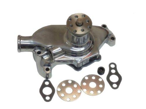 100% New Brand SBC Chevy Polished Aluminum Short Water Pump