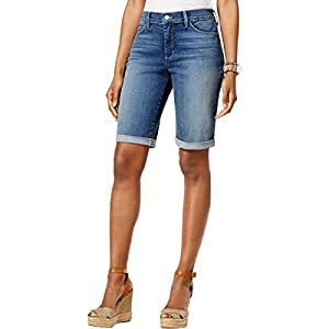 Women's  Roll Cuff Jean Short