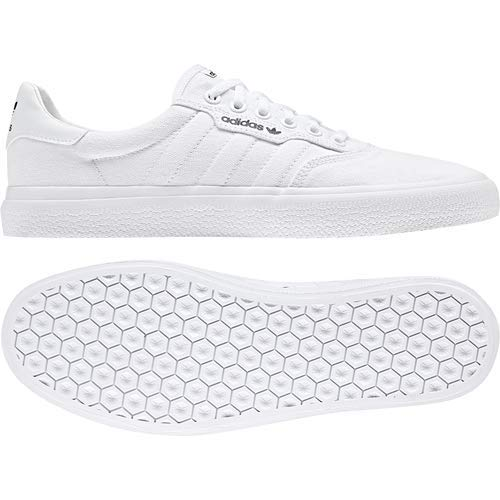 adidas Originals Unisex-adult 3 MC Skate Shoe White/Gold Metallic, 5.5 M US by adidas Originals (Image #7)