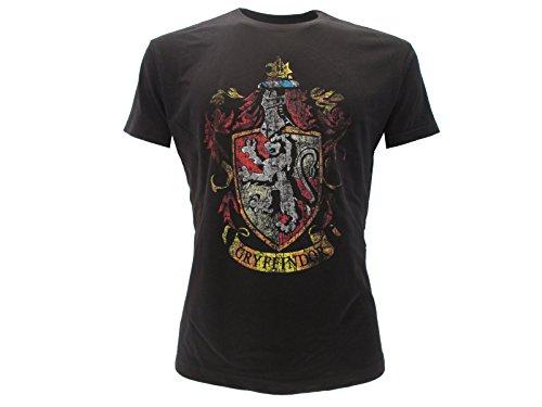 T-Shirt GRYFFINDOR Haus Symbol WAFFEN Harry Potter - 100% Offiziell WARNER BROS