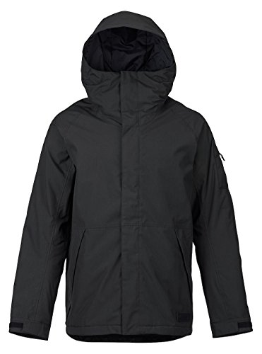 Burton Men's Hilltop Jacket, True Black, Small
