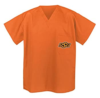 Oklahoma State SCRUBS - Shirt OSU Cowboys Tops for Men or Women 3XL