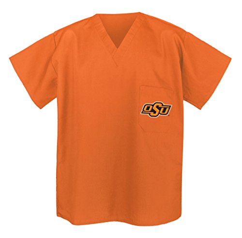 Oklahoma State Scrubs - Shirt OSU Cowboys Tops for Men or Women 3XL Orange