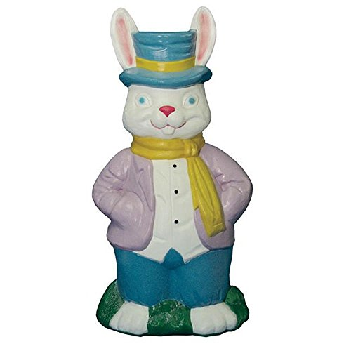 Mr. Rabbit Easter Bunny Light-up Blow Mold Home Decor, Outdoor or Indoor Festive Spring Lighted Decoration, Yard, Deck, Patio or Garden from general faom