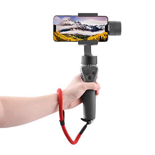 (TANGON High-Grade Portable Wrist Lanyard Handheld Hang Buckle Rope Tape Hook Designed for DJI OSMO Mobile2 Zhiyun GoPro Camera)