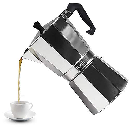 Moka Pot 6 Cup, Stovetop Espresso Maker Aluminum Moka Pot Coffee Maker 6 ()