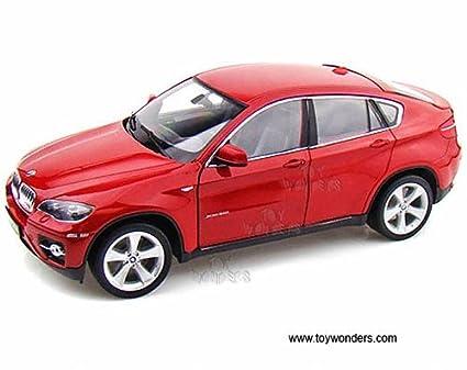 Amazon Com 18031r Welly Bmw X6 Hard Top 1 18 Red 18031 Diecast