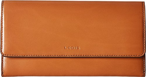 Lodis Accessories Women's Audrey Under Lock & Key RFID Luna Clutch Wallet Toffee One Size ()
