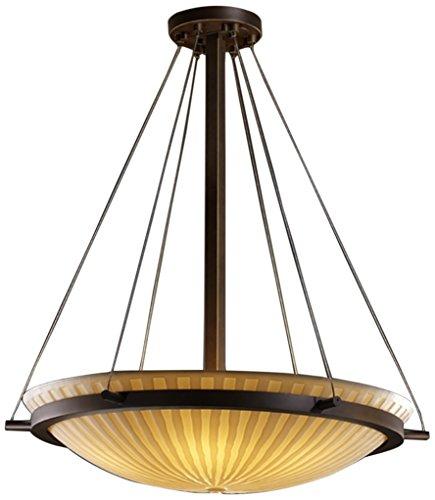 Justice Design Group Lighting PNA-9691-35-WFAL-DBRZ-LED3-3000 Porcelina-Ring 21