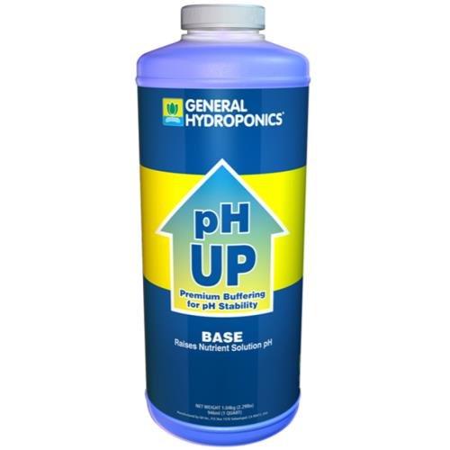 GH pH Up Liquid Quart by General Hydroponics
