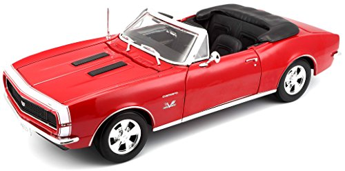 (Maisto 1:18 Scale 1967 Chevy Camaro SS 396 Convertible Diecast Vehicle (Colors May Vary))