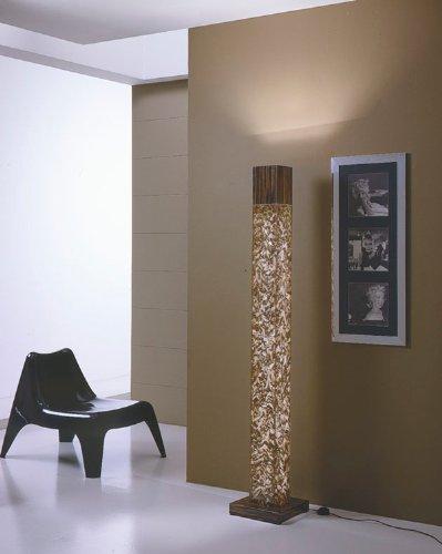 Lavamar italian crystal stone ebony aureo standing floor lamp lavamar italian crystal stone ebony aureo standing floor lamp mozeypictures Images