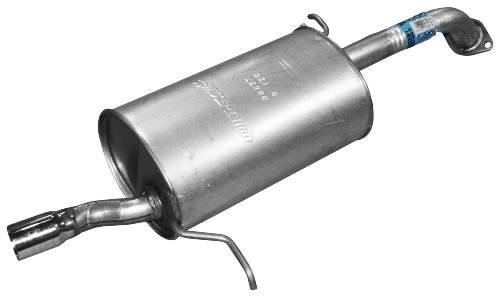 Mazda Protege Exhaust Muffler - Walker 53397 Quiet-Flow Stainless Steel Muffler Assembly