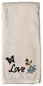 Faith Bath Collection - Bath Ensemble - Towel Set - Bath, Hand, Fingertip Towels