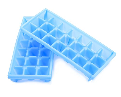 Camco-Stackable-Miniature-Ice-Cube-Tray-for-Mini-Fridges-RVMarine-Freezers-Dorm-Freezers-and-Small-Freezers-2-Pack-44100