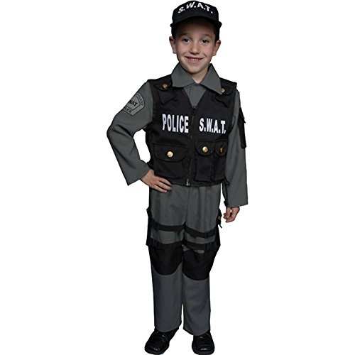 Deluxe Childrens Police Officer Costume product image