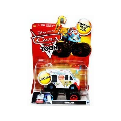 Disney / Pixar CARS TOON 1:55 Scale Die Cast Car Vehicle IScreamer I-Screamer Monster Truck Mattel: Toys & Games