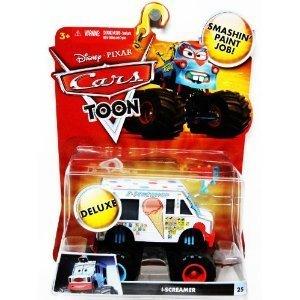 Disney / Pixar CARS TOON 1:55 Scale Die Cast Car Vehicle IScreamer I-Screamer Monster Truck Mattel