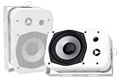 Dual Waterproof Outdoor Speaker System -...