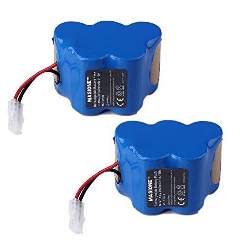 2x Masione 4.8V 3000mAh Ni-MH Replcement Battery for Euro-Pr