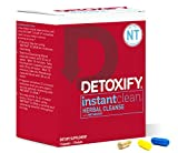 Detoxify Instant Clean – 3 Capsules | Professionally Formulated Herbal Detox Capsules | Enhanced with Metaboost, Milk Thistle Extract, Uv Ursi & Ginseng Extract