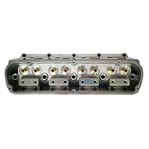 Head Sbf - Machine Supplies Bare Aluminum Cylinder Head Compatible for SBF Ford 289 302 351 2.05/1.60