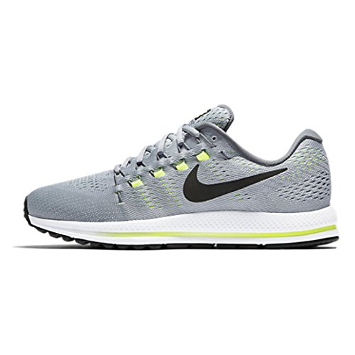 Nike NIKE AIR ZOOM VOMERO 12(W)–Chaussures de running, homme, gris (Wolf Grey/black-cool grey-pure Platinum)