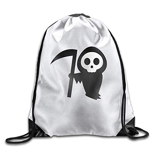 Beatybag 3D Print Drawstring Bags Bulk, Halloween Pumpkin Stencils Witch Halloween Unisex Gym Drawstring Shoulder Bag Backpack String Bags ()