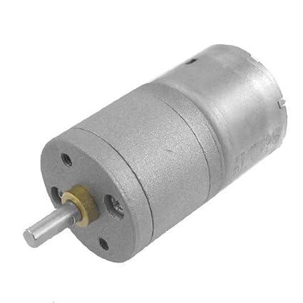 Amazon.com: eDealMax 30 RPM de velocidad de Salida de CC 3V 0.4A 25GA 2 Terminales Motorreductor: Automotive