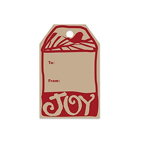 Rustic Christmas Gift Tags - 2.25 x 3.5 - 50 Pack
