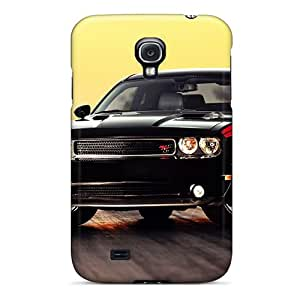 Hot Dodge Challenger First Grade Tpu Phone Case For Galaxy S4 Case Cover