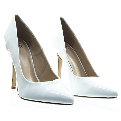 Pumps Date Patent White H Delicious Shoes Womens Fashion TIwqIx8U
