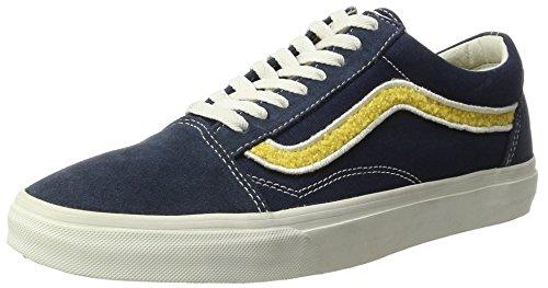 Vans Old Herren Baskets Skool, Braun, Blau 40 Eu (mlx)