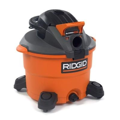Ridgid WD1280 12 Gallon 5 HP High-Performance Wet/Dry Vacuum w/ Detachable Blower
