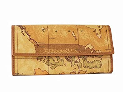 d33d16221fdb Amazon | (プリマ・クラッセ) PRIMA CLASSE 長財布 W018 -6000 世界地図 ...