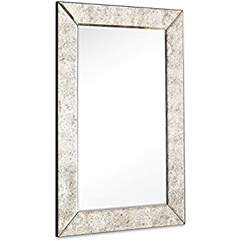 Amazon.com: Large Antiqued Framed Wall Mirror 3.5 inch Antique Frame ...