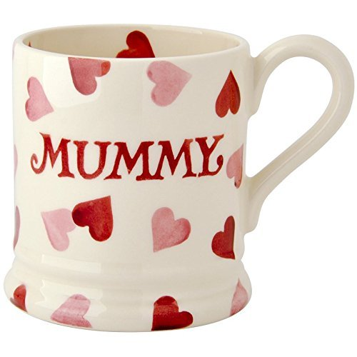 Emma Bridgewater Pink Hearts Mummy 1/2 Pint Mug by Emma Bridgewater