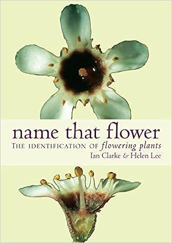 Amazon name that flower identification of flowering plants amazon name that flower identification of flowering plants 9780522850604 ian clarke helen lee books mightylinksfo