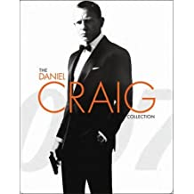 The Daniel Craig Collection - James Bond 007 - Limited Edition Steelbook - Includes Casino Royale, Quantum Of Solace, Skyfall