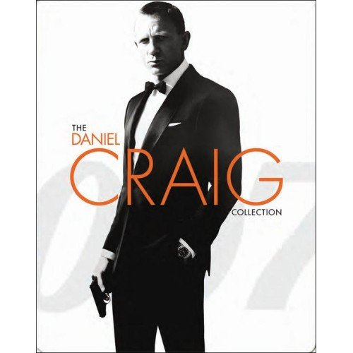 The Daniel Craig Collection - James Bond 007 - Limited Edition Steelbook - Includes Casino Royale, Quantum Of Solace, Skyfall [Digital HD] [Blu-ray]