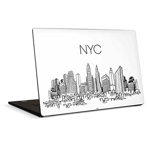 Skinit Illustration Art Dell XPS 15in (2017) Skin - NYC Sketchy Cityscape Design - Ultra Thin, Lightweight Vinyl Decal Protection