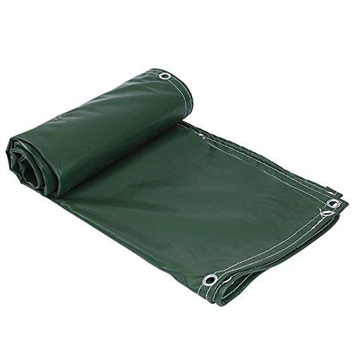 遠洋のまた明日ね旋律的防水防水ターポリン0.25ミリメートル緑の防風日焼け止め車のターポリン屋外庭プラント防風シート160ポンド/平方メートル(28サイズご利用いただけます) (色 : Green, サイズ さいず : 8 * 12m)
